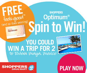 Spin to Win with Shoppers Optimum
