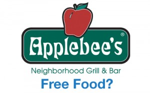 Free Appetizer at Applebees