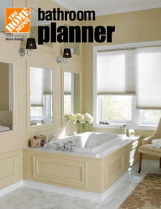 Home Depot Bathroom Planner