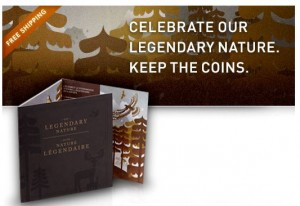 Legendary Nature Coin Collector Card