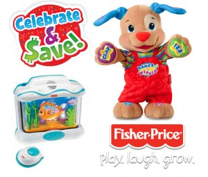 Celebrate and Save with Fisher Price Coupons