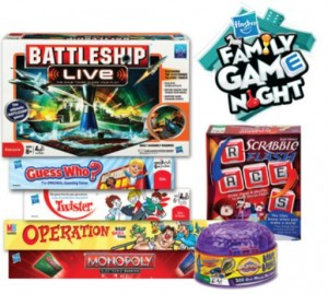 Save 5 on any Hasboro Game