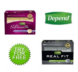 Get Free Samples of Depends