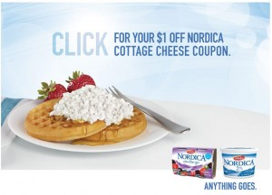 Save 1 on Nordica Cottage Cheese