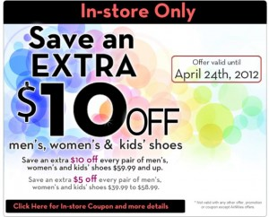 Save 10 at The Shoe Company