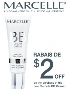 Save 2 on Marcelle BB Cream