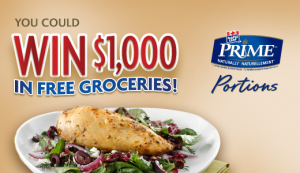 Win 1000 in Free Groceries from Maple Leaf