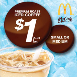 Dollar Drink Days at McDonalds