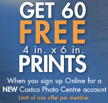 Get 25 Free Prints from Costco