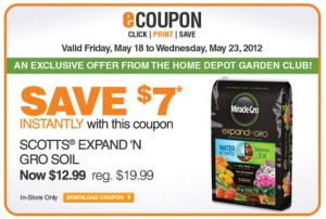 Home Depot Expand and Grow Coupon