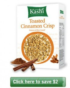 Save 2 on Kashi Cereal