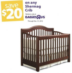Save 20 off Babies R Us Crib
