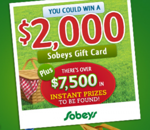 Win a Sobeys Gift Card