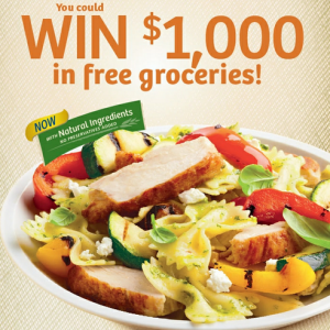 1000 in free grocerys from maple leaf prime