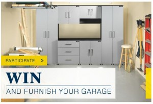 Win and Furnish Your Garage with RONA
