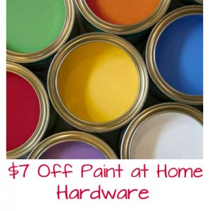 Save 7 on Paint at Home Hardware
