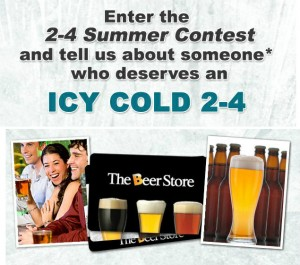 Win a 2-4 From the Beer Store