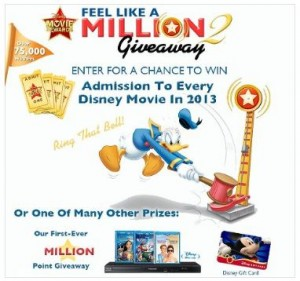 Win Admission to Disney Movies in 2013