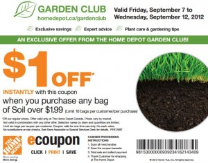 Save on Soil at Home Depot