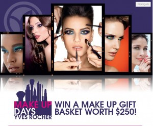 Win a Yves Rocher Makeup Basket