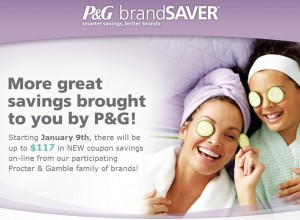 P&G Brandsaver Coupons