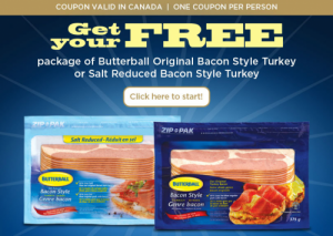 Butter Free Turkey Bacon Coupons