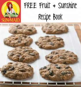 FREE SunMaid Fruit & Sunshine Recipe Book