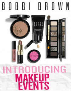 Bobby Brown Cosmetics on Check Out The Bobbi Brown Makeup Events