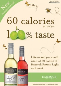 Get in the Banrock Station Light Wine Giveaway to WIN